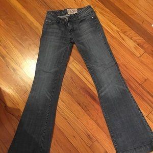 Distressed American Rag jeans